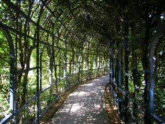 パレスハウステンボス庭園内のトンネル
