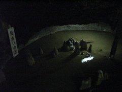 井倉洞・見返りの滝