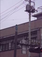 遠野・駅前の座敷童.JPG
