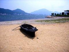 巌流島・武藏の船?
