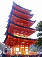 厳島神社・五重塔