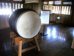 広島城太鼓櫓内部