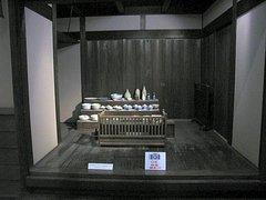 広島城天守閣内展示