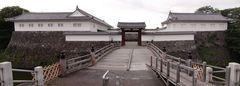 山形城二ノ丸東大手門を外より.jpg