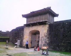 首里城・久慶門裏側