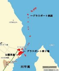 川平湾地図2