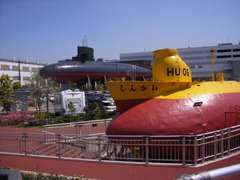 潜水艦の並び