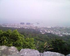 中城城・一の郭城壁からの眺望