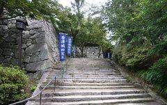 唐津城階段