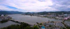 唐津城天守閣からの眺め2