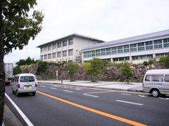 唐津東高校石垣