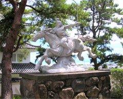 島原城銅像2
