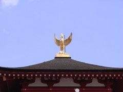 東院庭園・隅楼の屋根.jpg