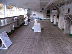 日本丸・凹甲板