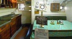 日本丸・機関部食堂