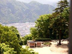 備中松山城天守閣からの眺望