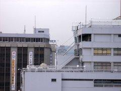 姫路城・新幹線のホームより
