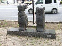 姫路大手前通りの像