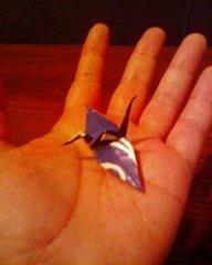 平和祈念公園・折り鶴