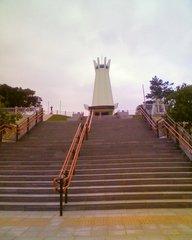 平和祈念公園・平和祈念堂