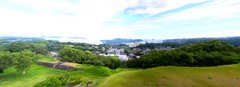 名護屋城天守台からの眺望