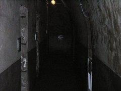 立山防空壕廊下