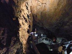 龍泉洞・出口階段上より.jpg