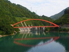 トロッコ列車・宇奈月ダム.jpg