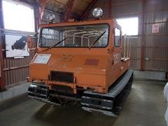 ノシャップ岬・南極越冬資料展示コーナー・雪上車.jpg