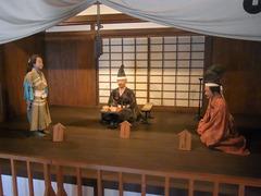 上田城・北櫓1階・真田親子.jpg