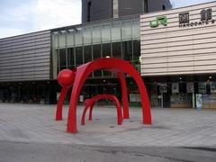 函館駅前のorz.jpg