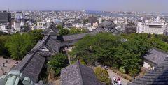 和歌山城・天守閣から見下ろした天守曲輪.jpg