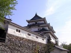 和歌山城・天守閣と天守曲輪外壁.jpg