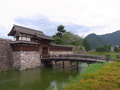 松代城・太鼓門と前橋1.jpg
