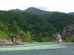 知床クルーズ・カムイワッカの滝2.jpg