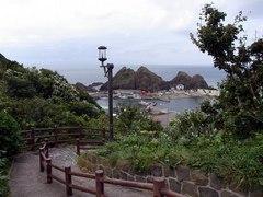 竜飛岬・階段国道・帯島を見る.jpg