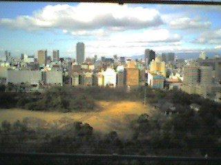 大阪城天守閣から見た大阪市内.jpg