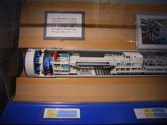 シールドマシン模型