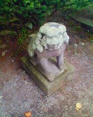 遠野・常堅寺・河童の狛犬2.jpg