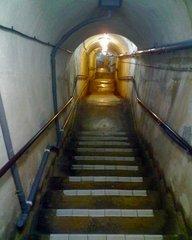 海軍壕・階段