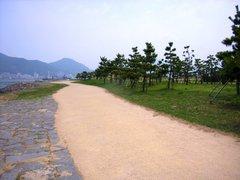 巌流島・遊歩道