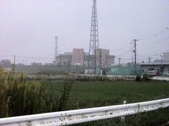 庄和排水機場遠景