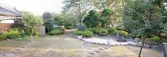 川越城の庭