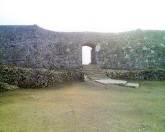 中城城・二の郭から一の郭への門