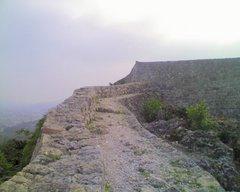 中城城・二の郭城壁2