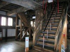 姫路城・天守閣・階段