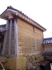 姫路城・油壁