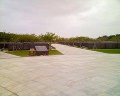 平和祈念公園・戦没者慰霊碑