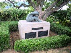 平和公園・オランダの像