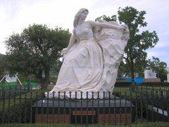 平和公園の中国の像